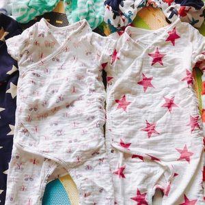 Aden&Anais muslin bodysuits bundle